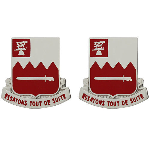 397th Engineer Battalion Unit Crest (Essayons Tout De Suite)