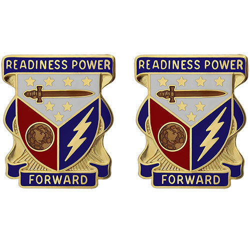 402nd Support Brigade Unit Crest (Readiness Power Forward)