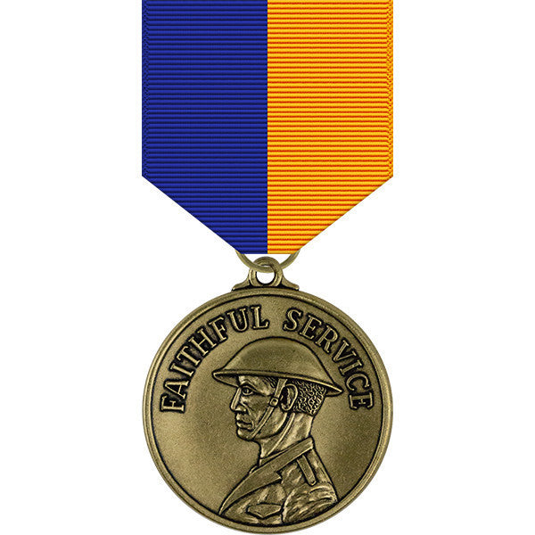 Oregon National Guard Faithful Service Medal