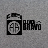 82nd Airborne 11 Bravo T-Shirt