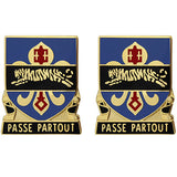 415th Military Intelligence Battalion Unit Crest (Passe Partout)