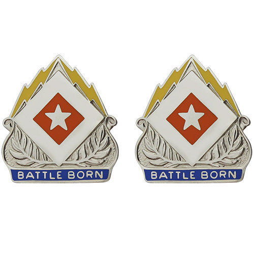 422nd Signal Battalion Unit Crest (Battle Born)