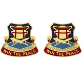 425th Civil Affairs Battalion Unit Crest (Win the Peace)