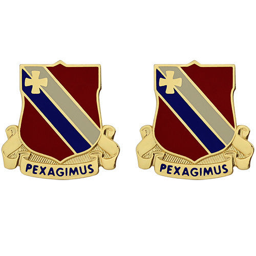 434th Support Battalion Unit Crest (Pexagimus)