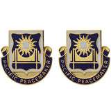 445th Civil Affairs Battalion Unit Crest (Pacific Peacemaker)