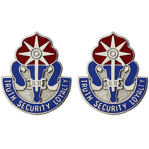 470th Military Intelligence Brigade Unit Crest (Truth Security Loyalty)