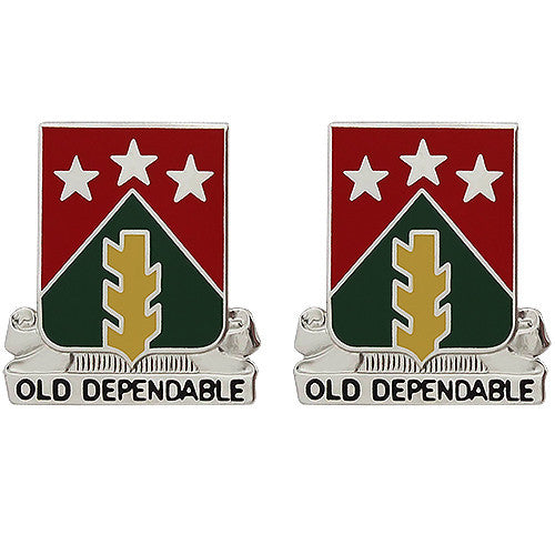 473rd Quartermaster Battalion Unit Crest (Old Dependable)