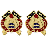 479th Field Artillery Brigade Unit Crest (Dependable Support)