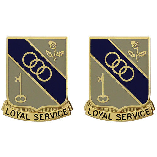 503rd Support Battalion Unit Crest (Loyal Service)