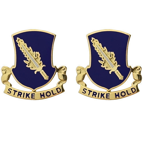 504th Infantry Regiment Unit Crest (Strike Hold)