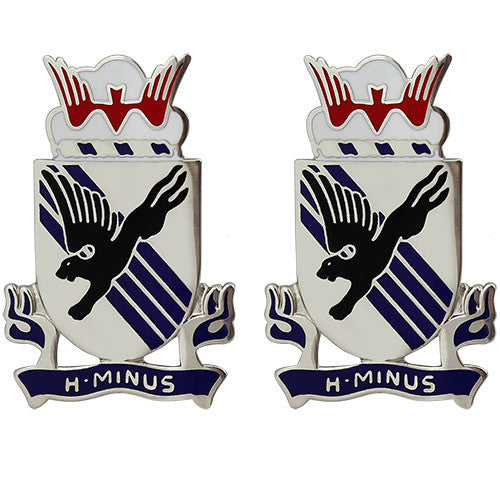 505th Infantry Regiment Unit Crest (H-Minus)