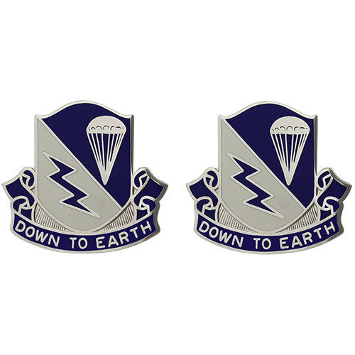 507th Infantry Regiment Group Unit Crest (Down to Earth)