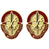 521st Maintenance Battalion Unit Crest (Support With Distinction)