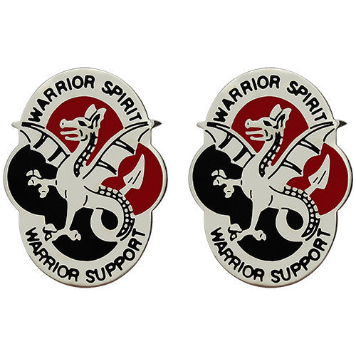 530th Support Battalion Unit Crest (Warrior Spirit Warrior Support)