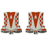 551st Signal Battalion Unit Crest (Video Et Moneo)