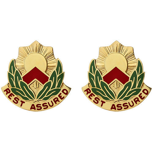 593rd Sustainment Brigade Unit Crest (Rest Assured)