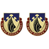 602nd Support Battalion Unit Crest (To Mend Broken Wings)