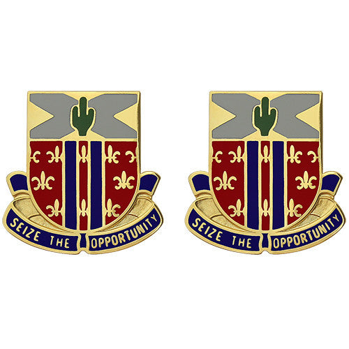 623rd Field Artillery Regiment Unit Crest (Seize the Opportunity)