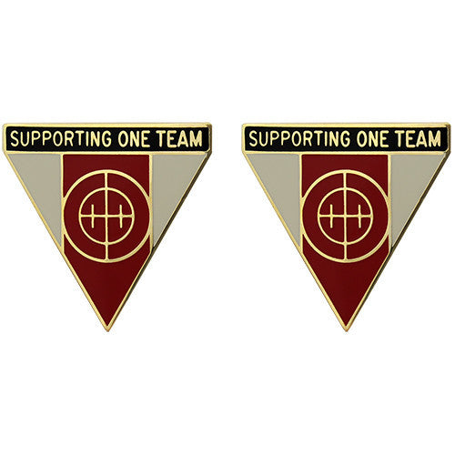 643rd Support Group Unit Crest (Supporting One Team)