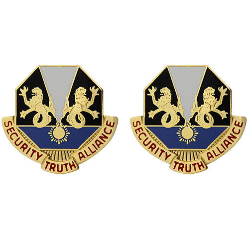 650th Military Intelligence Group Unit Crest (Security Truth Alliance)