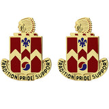 700th Support Battalion Unit Crest (Tradition Pride Support)
