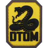 Don't Tread On Me PVC Full Color Patch