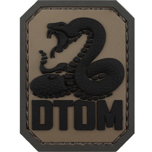 Don't Tread On Me PVC ACU Patch