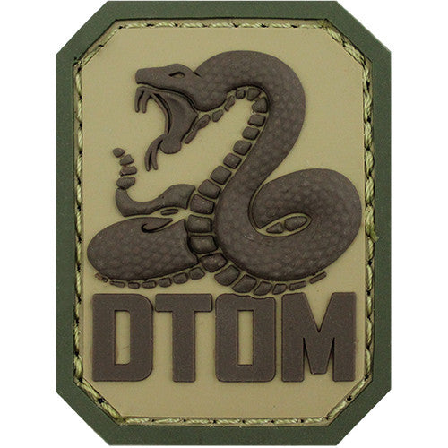 Don't Tread On Me PVC MultiCam (OCP) Patch
