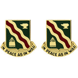 728th Military Police Battalion Unit Crest (In Peace as in War)