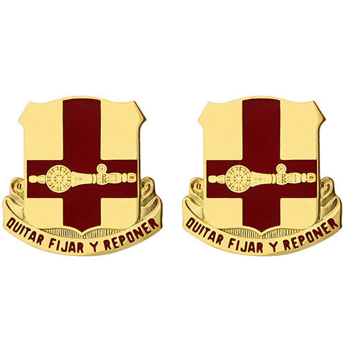749th Support Battalion Unit Crest (Quitar Fijar Y Reponer)