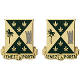 759th Military Police Battalion Unit Crest (Tenez La Porte)