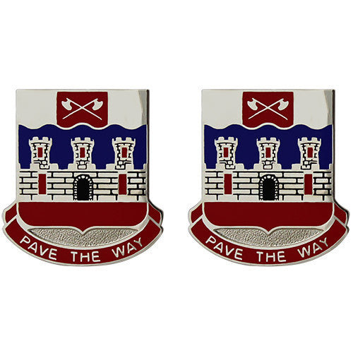 766th Engineer Battalion Unit Crest (Pave the Way)
