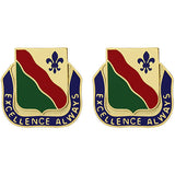 787th Military Police Battalion Unit Crest (Excellence Always)