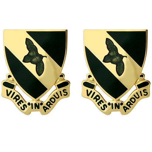 333rd Military Police Brigade Unit Crest (Vires in Arduis)