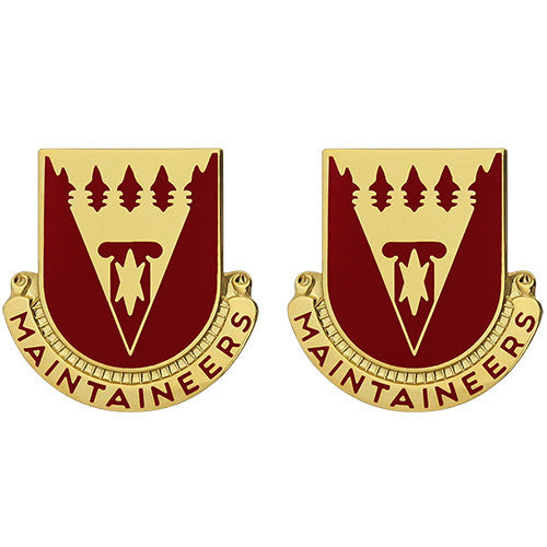 801st Support Battalion Unit Crest (Maintaineers)
