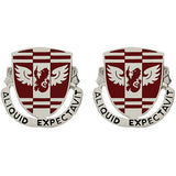 864th Engineer Battalion Unit Crest (Aliquid Expectavit)