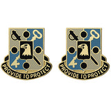 402nd Military Police Battalion Unit Crest (Provide to Protect)