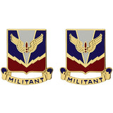 ADA (Air Defense Artillery) Center and School Unit Crest (Militant)