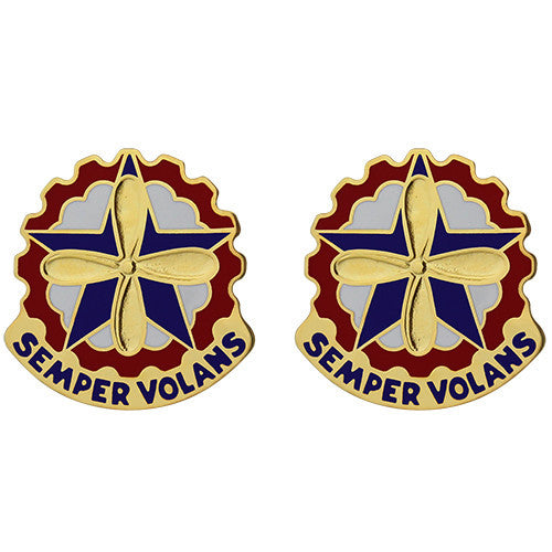 Mobilization AVCRAD Control Element Unit Crest (Semper Volans)