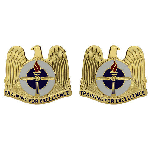 Aviation Training Sites Unit Crest (Training for Excellence)