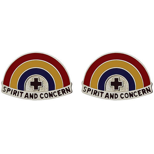 U.S. Army DENTAC Hawaii Unit Crest (Spirit and Concern)