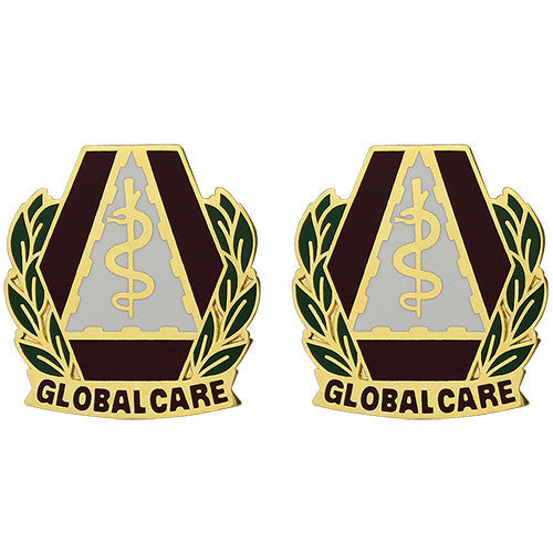 U.S. Army Dental Command Unit Crest (Global Care)