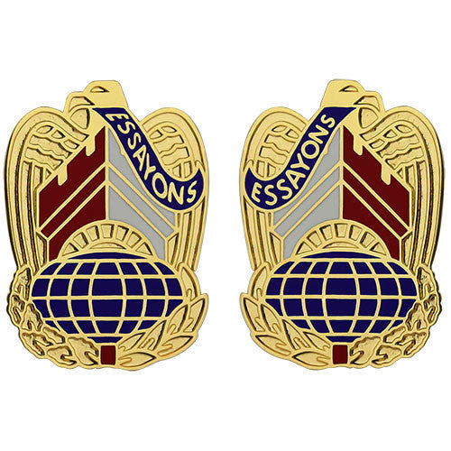 Corps of Engineers Command Unit Crest (Essayons)