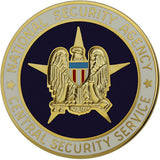 Army National Security Agency Central Security Service Identification Badge