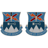 Special Troops Battalion, 2nd Brigade, 10th Mountain Division Unit Crest (Vigor Et Dignitas)
