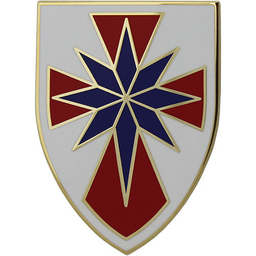 8th Theater Sustainment Command Combat Service Identification Badge