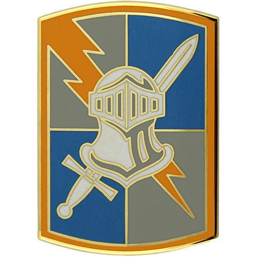 513th Military Intelligence Brigade Combat Service Identification Badge