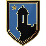 191st Support Group Combat Service Identification Badge