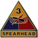 3rd Armored Division Combat Service Identification Badge