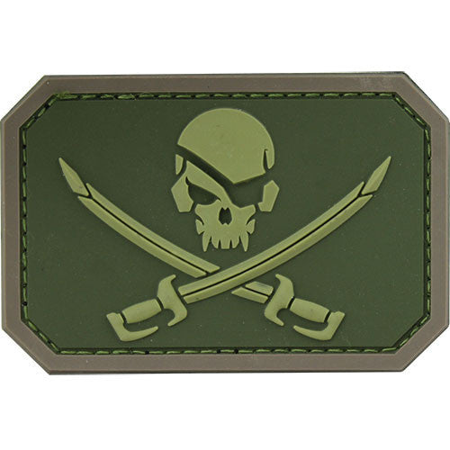 Pirate Skull PVC MultiCam (OCP) Patch